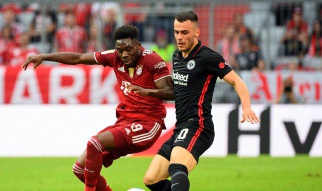 Filip Kostic et l'Eintracht ont fait tomber le Bayern d'Alphonso Davies