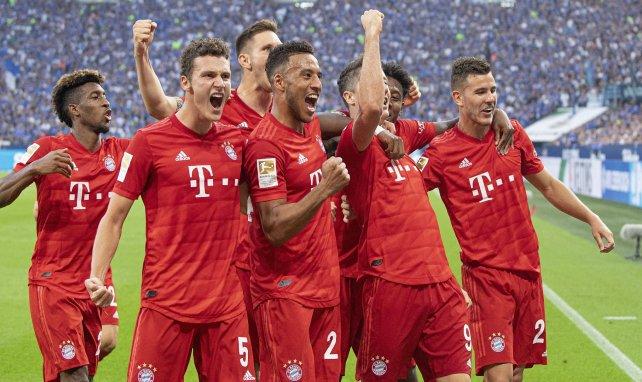 Les Français du Bayern Kingsley Coman, Benjamin Pavard, Corentin Tolisso et Lucas Hernandez