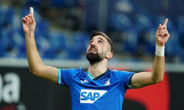 Munas Dabbur célèbre le 3-0 avec Hoffenheim contre le Werder Brême
