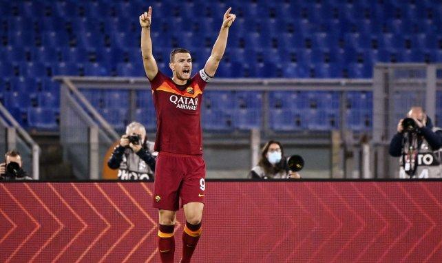 Edin Dzeko face à Benevento