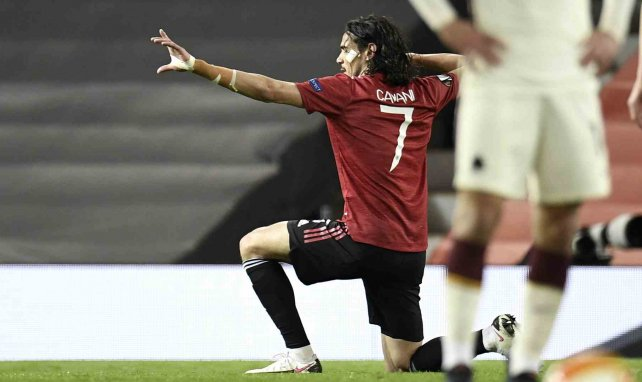 Manchester United blinde Edinson Cavani