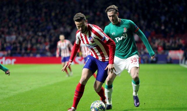 Aleksey Miranchuk au duel avec Saul Niguez en Ligue des Champions