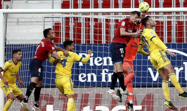 Liga : Osasuna domine Cadix