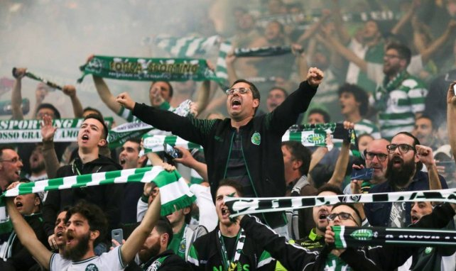 Les supporters du Sporting CP