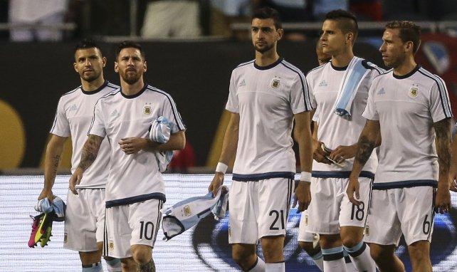 Javier Pastore avec Lionel Messi sous le maillot argentin