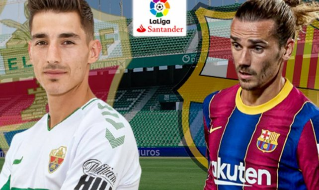 Elche-FC Barcelone : les compositions officielles