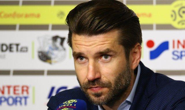 Luka Elsner, l'entraîneur d'Amiens