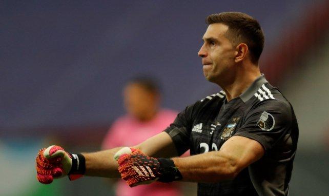 Emiliano Martinez a étincelé dans le but de l'Argentine lors de la Copa América 2021