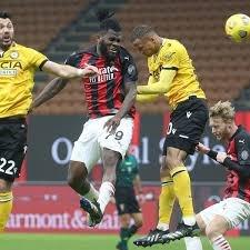 Serie A : l'AC Milan arrache le nul sur le fil contre l'Udinese, l'Atalanta déroule face à Crotone