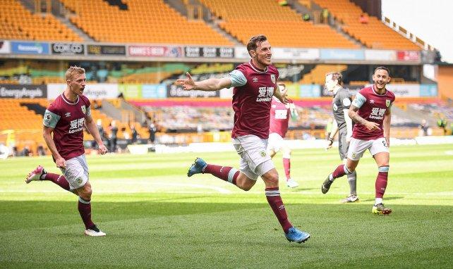 Chris Wood buteur avec Burnley contre Wolverhampton