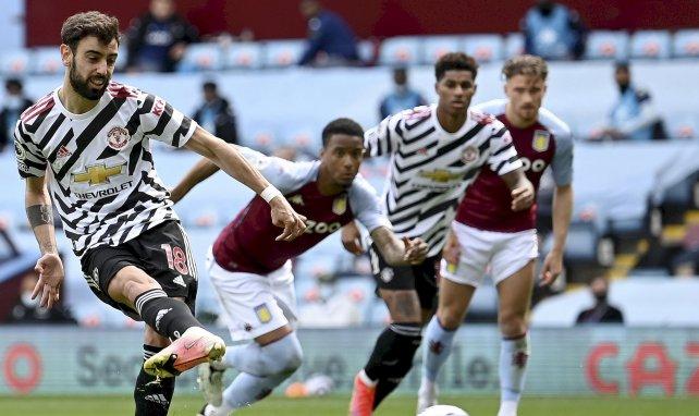 PL : Manchester United renverse Aston Villa et retarde le titre de Manchester City
