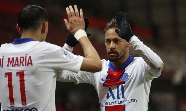 Angel di Maria et Neymar au PSG à retrouver sur Canal