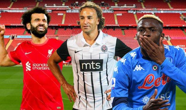 Mohamed Salah, Lazar Markovic et Victor Osimhen n'ont pas encore perdu cette saison