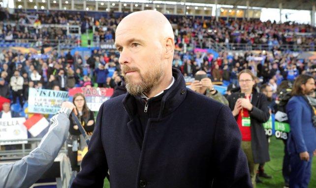 Erik ten Hag, le coach de l'Ajax Amsterdam