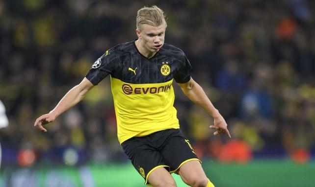 Haaland viré d'une discothèque par la sécurité — Dortmund