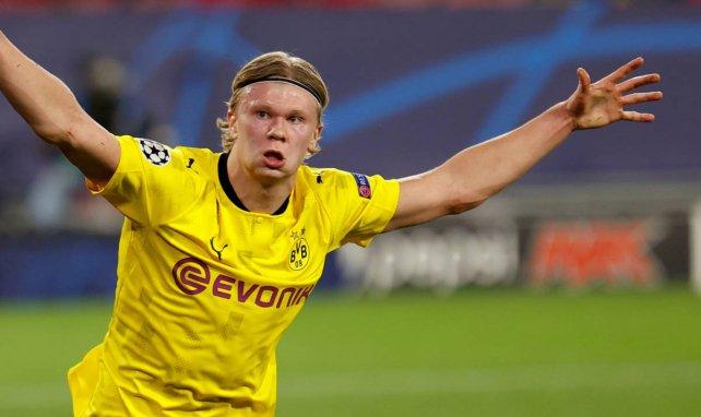 Erling Haaland avec le Borussia Dortmund