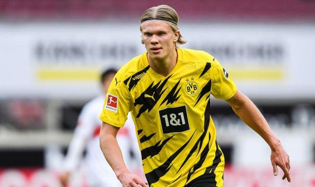 Borussia Dortmund : Mino Raiola dévoile les clubs où pourrait jouer Erling Haaland et tacle la Ligue 1 !