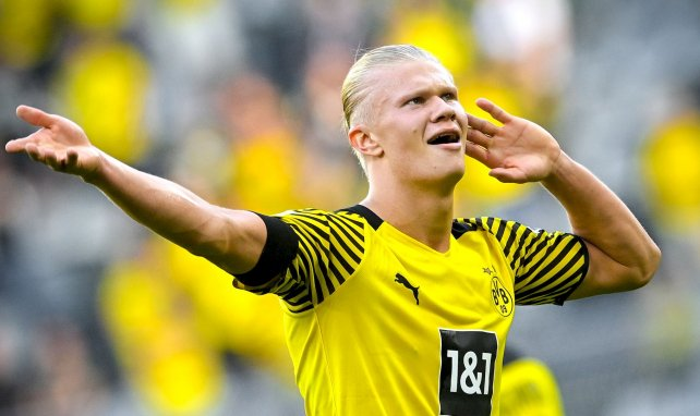 Erling Braut Haaland avec le Borussia Dortmund