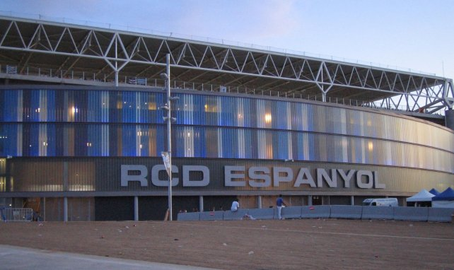 Le RCDE Stadium où évolue l'Espanyol de Barcelone