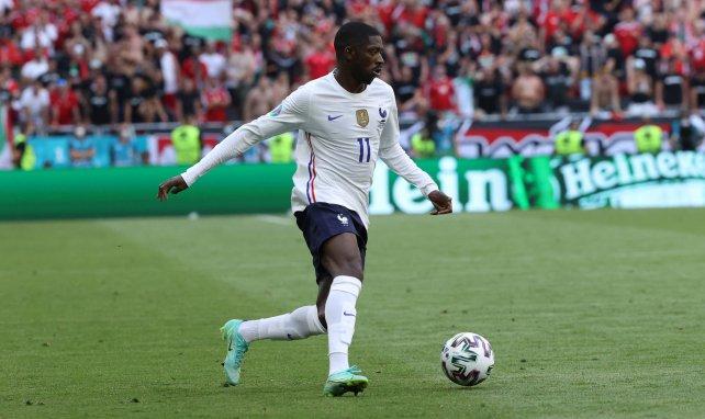 Equipe de France : Ousmane Dembélé envoie un message après son forfait