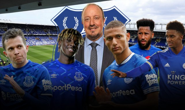 Bernard, Kean, Benitez, Richarlison, Townsend et Gray agitent le mercato d'Everton