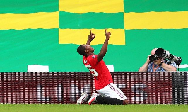 Odion Ighalo célèbre son but face à Norwich