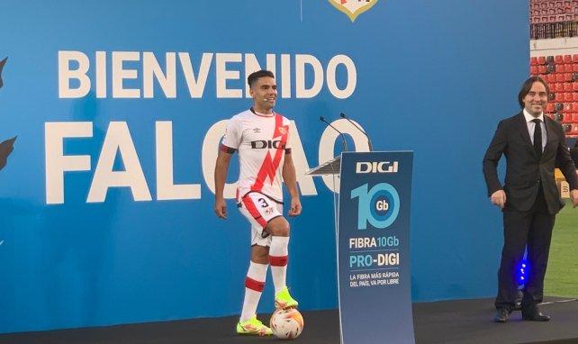 Rayo : Radamel Falcao justifie le choix du numéro 3 pour son maillot