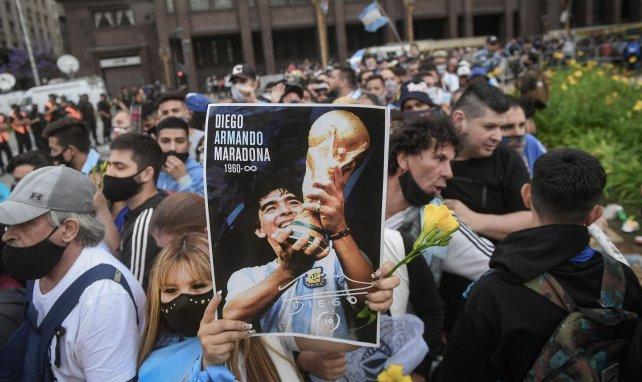 Disparition de Maradona : débordements lors de la veillée funèbre