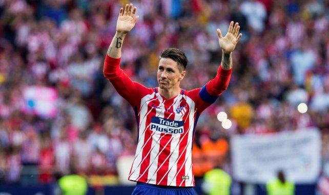 Fernando Torres de retour à l'Atlético de Madrid