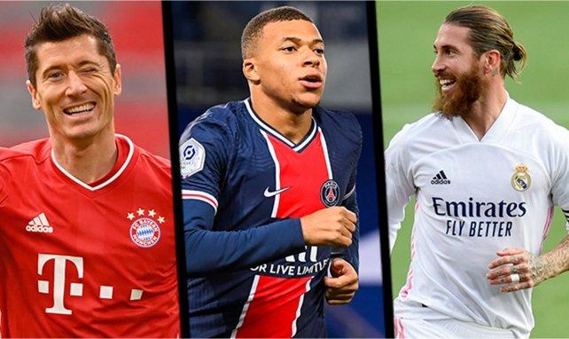 FIFA-The Best : les onze nommés pour le titre de meilleur joueur