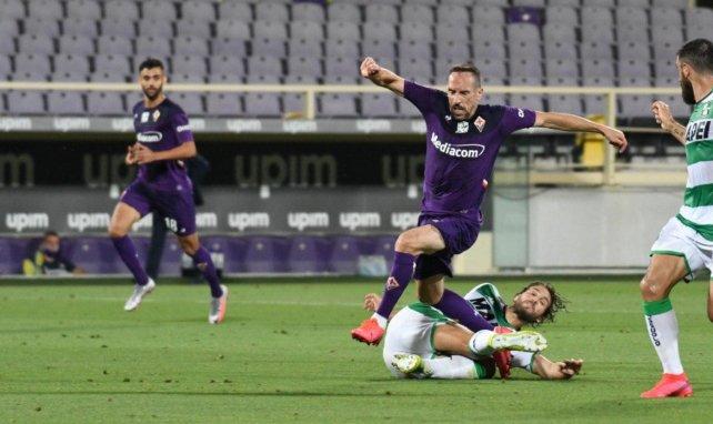 Franck Ribéry avec la Fiorentina