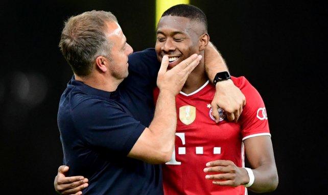 Bayern Munich : Hansi Flick se prononce sur les cas Alaba et Alcantara
