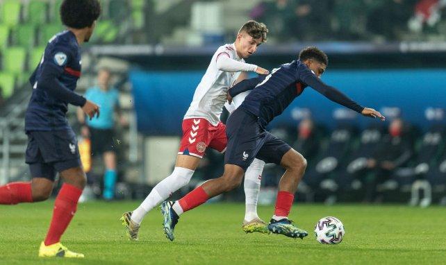 Wesley Fofana contre le Danemark