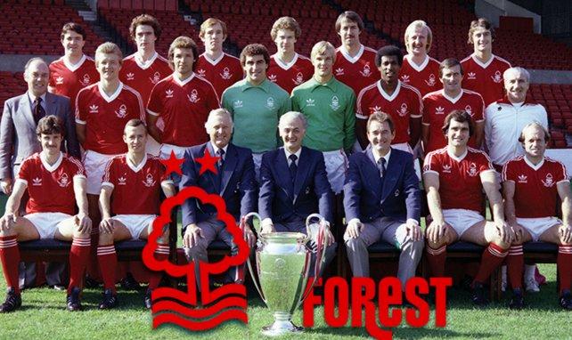 Nottingham Forest a soulevé la Coupe des Clubs Champions en 1979 et 1980