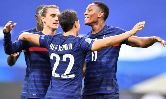 Griezmann, Ben Yedder et Martial face à la Croatie