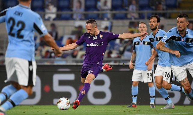 Franck Ribéry sous le maillot de la Fiorentina