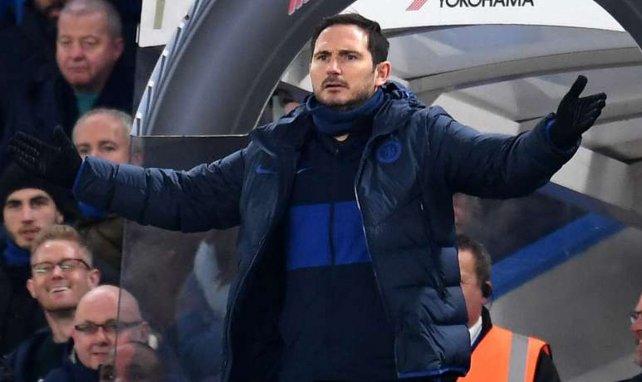 Frank Lampard sur le banc de Chelsea