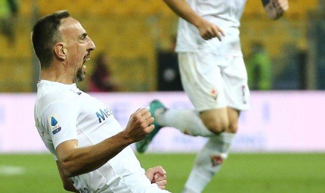 Frank Ribéry avec la Fiorentina
