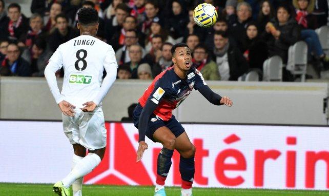 Gabriel contre Amiens en Coupe de la Ligue BKT