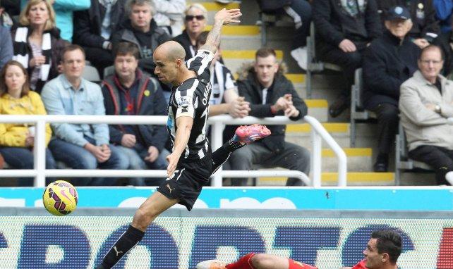 Gabriel Obertan avec Newcastle en Premier League