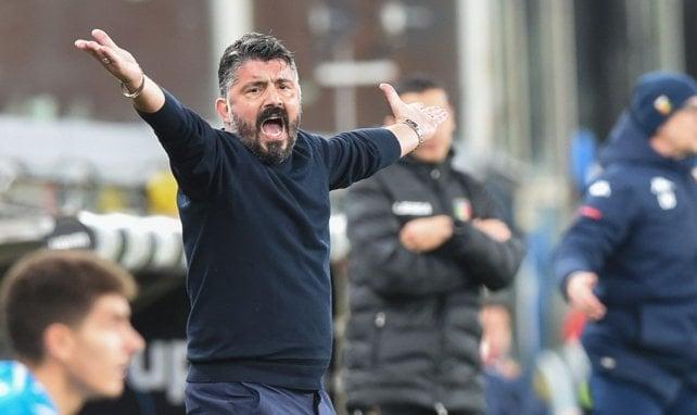 Naples : plusieurs noms pour remplacer Gattuso