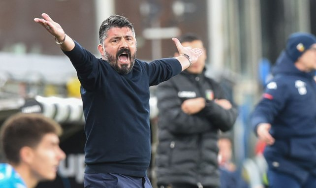 Naples : Gennaro Gattuso massacre Grenade