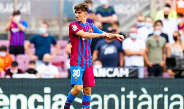 FC Barcelone : Ronald Koeman s'enflamme pour Gavi
