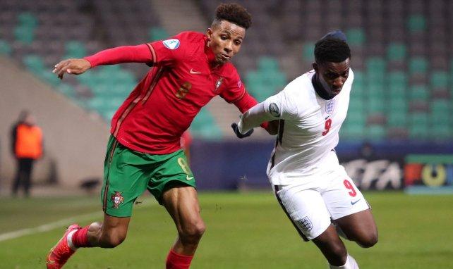 Gedson Fernandez avec le Portugal lors de l'Euro U21