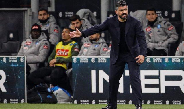 Naples : Gennaro Gattuso cartonne ses joueurs