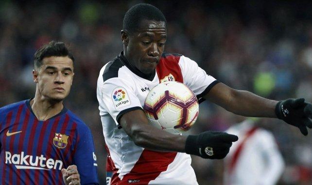 Giannelli Imbula avec le Rayo Vallecano face au Barça
