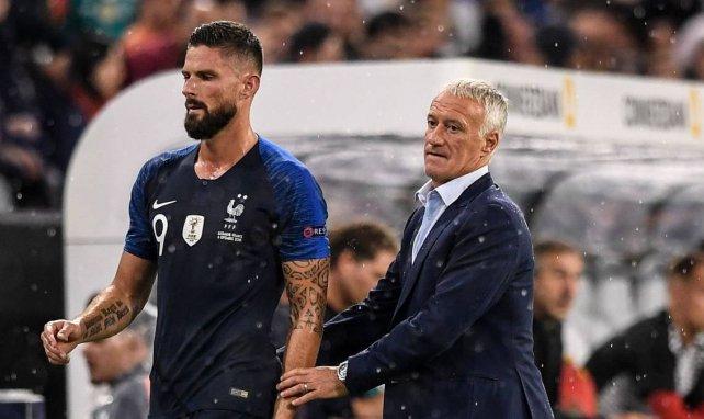 LdC : Didier Deschamps évoque le quadruplé d'Olivier Giroud avec Chelsea