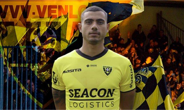 Giorgios Giakoumakis sous les couleurs du VVV Venlo