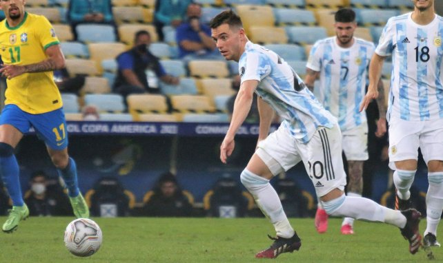 Giovani Lo Celso sous les couleurs de l'Argentine