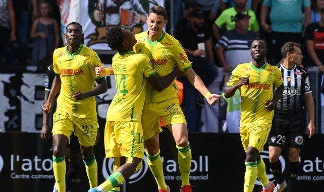 Ligue 1 : le FC Nantes surprend Angers, Troyes rattrapé par Montpellier